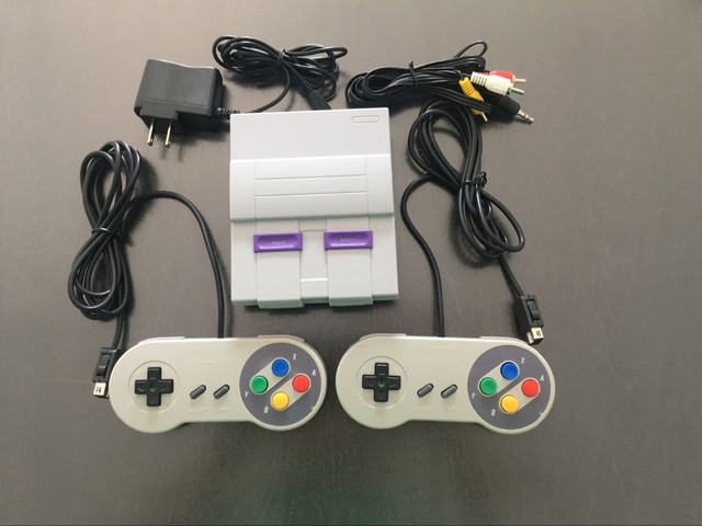SUPER MINI game CONSOLE with 94 classic mini SNES retro games xmas gift