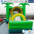 Jungle Theme Inflatable Bouncer With Slide For Children Games