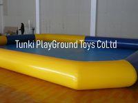Big Inflatable kids water fun swimming pool 15x10x0.6M