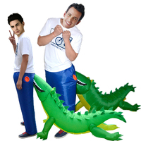 Onesies For Adult Inflatable Dinosaur Costume Crocodile Animal Cosplay Mascot Costumes Holloween Carnival Blow Up Funny