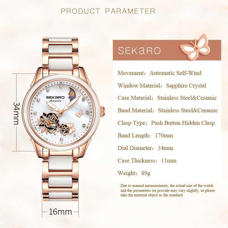 91ac9f2f ... 2019 бабочка керамические часы женские наручные часы с сапфирами  Кристалл женские часы Женское платье деловые Relogio