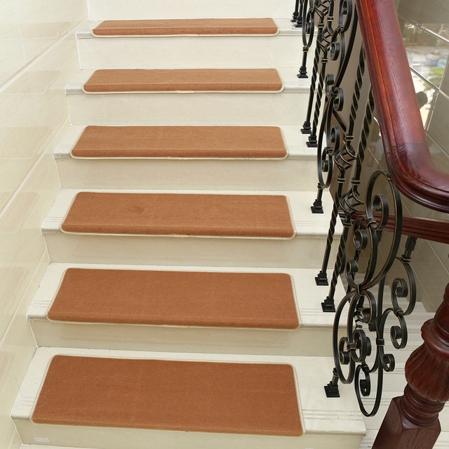 5pcs Set New Home Anti Slip Floor Staircase Carpets Stair Treads