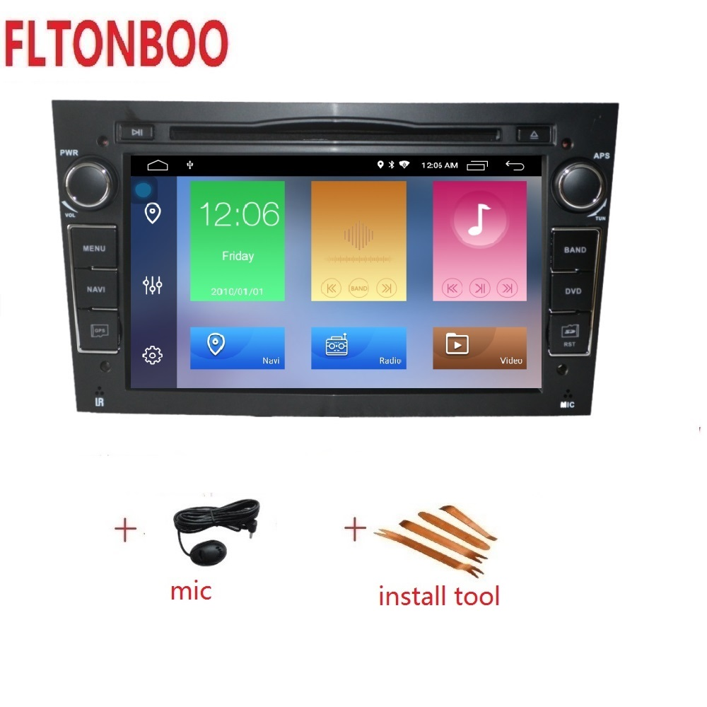 7 Android 9 Car GPS Navigation radio 2din DVD for opel astra h zafira vectra bluetooth