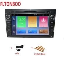 """7 """"Android 9 di Navigazione GPS Per Auto radio 2din DVD per opel astra h, zafira, vectra bluetooth, volante, 2 gb di ram, schermo di tocco"""