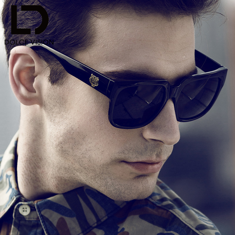 DOLCE VISION 2018 New Original Brand Sunglasses Men ...