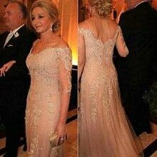 Champagne Mutter Der Braut Kleider Mit Tüll Pailletten Halbarm Bräutigam Mutter Abendkleider 2016 Benutzerdefinierte Plus größe