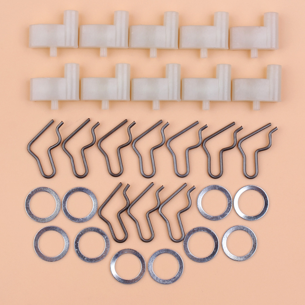 10Pcs Starter Pawl Dog Repair Kit For Stihl FS55 FS45 FS46 HS45 TS400 BG55 BG65 BG45 BG85 Trimmers 4116-195-7200, 1125-195-7200