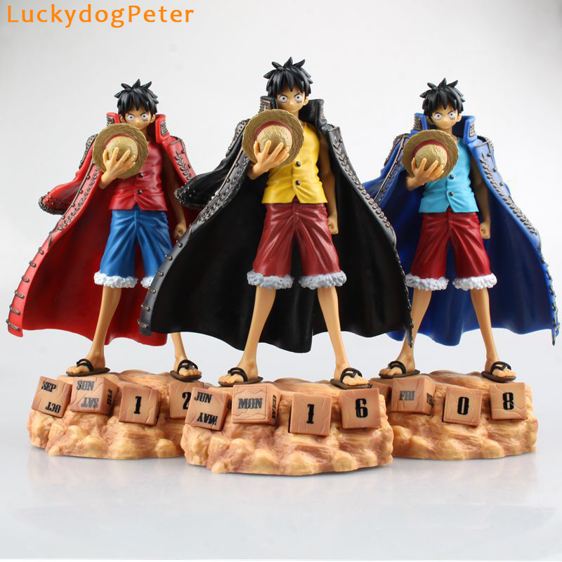 Toys & Hobbies One Piece Monkey D Luffy Action Figure 1/8 Scale Painted Figure Eternal Calendar Ver Luffy Doll Pvc Acgn Figure Toys Anime