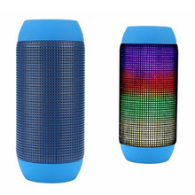 Colorful LED Light Wireless Bluetoth Speakers Column Computers Music Player Boom Box Outdoor Waterproof  Portable Speakers LED
