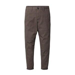 Image 5 - Simwood marca calças casuais dos homens nova primavera magro ajuste moda calças masculinas plus size tornozelo comprimento calças de alta qualidade 180402