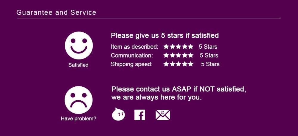 Guarantee and Service
