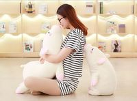 soft cotton plush toy prone pig plush toy cute pig large 80cm soft doll cushion throw pillow Christmas gift b1212