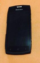 "Original tela lcd + tela de toque moldura para blackview bv7000 pro mt6750t octa core 5 ""fhd frete grátis"
