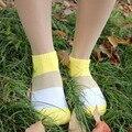 5pairs/lot Tricolor Female Socks Cute Socks Shallow Mouth Women's Striped Socks Women's Standard Sock Slippers