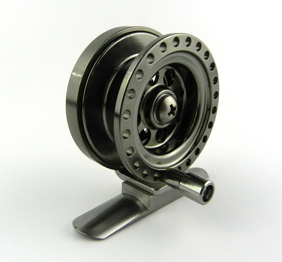 Deep Sea Mini Full Metal Aluminum Fly Fish reel 5cm fly fishing reel Ultra-light Winter Fishing Tackle Ice reels