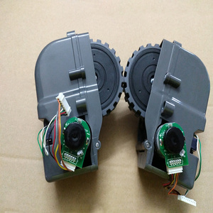 Image 2 - Accesorios de Robot aspirador ruedas izquierda derecha para Panda X500 piezas de Robot aspirador