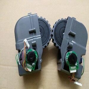 Image 2 - Accessoires pour aspirateur Robot, roues gauches et droites, pièce pour aspirateur Robot Panda X500