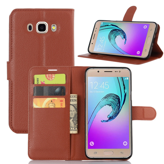 603a54cd1 Cover For Samsung Galaxy J7 2016 J710 Phone Cases Magnetic Stand Wallet  Flip Leather Case Covers