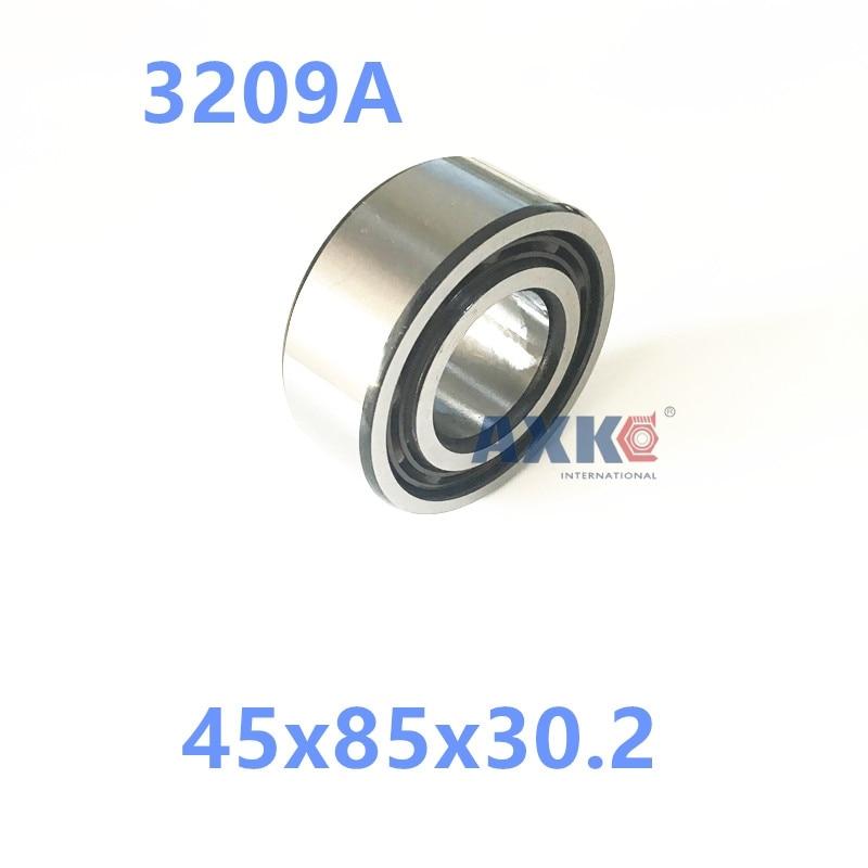 1PCS 5209A 5209 3209 3209A 45x85x30.2 3056209 Double Row Angular Contact Ball Bearings  AXK  Bearing 1pcs 71901 71901cd p4 7901 12x24x6 mochu thin walled miniature angular contact bearings speed spindle bearings cnc abec 7