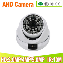 YUNSYE ahd camera 1080P cctv camera hd surveillance camera indoor home security camera 3.6mm lens wide angle dome cam full hd цена в Москве и Питере