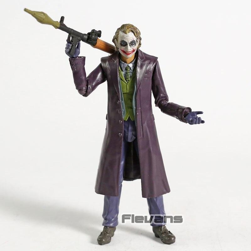 """SHF Batman il Cavaliere Oscuro Joker 6/"""" PVC Action Figure Giocattolo Regali"""