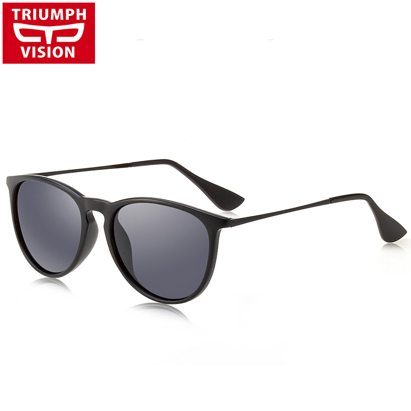 fa6279d5cb6 TRIUMPH VISION High Quality TR Frame Sunglasses Polarized Women Shades Pink  Mirror Sun Glasses For Women Classic Style Eyewear-in Sunglasses from  Apparel ...