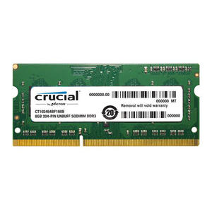 Crucial Laptop Memory Ram 1.35 v DDR3L 1600 Mhz 8 GB 4 GB for Notebook Sodimm Memoria
