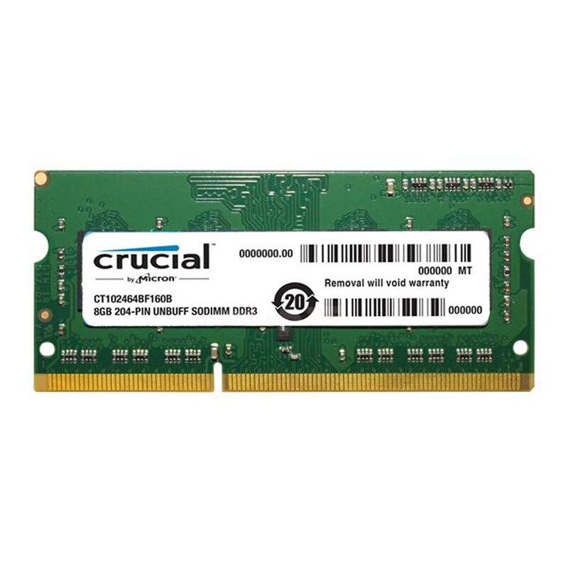 Crucial Hohe Qualität Laptop-speicher Ram 1,35 v DDR3L 1600 Mhz 8 GB 4 GB für Notebook Sodimm Memoria Kompatibel mit DDR3 1066 1333 MHz