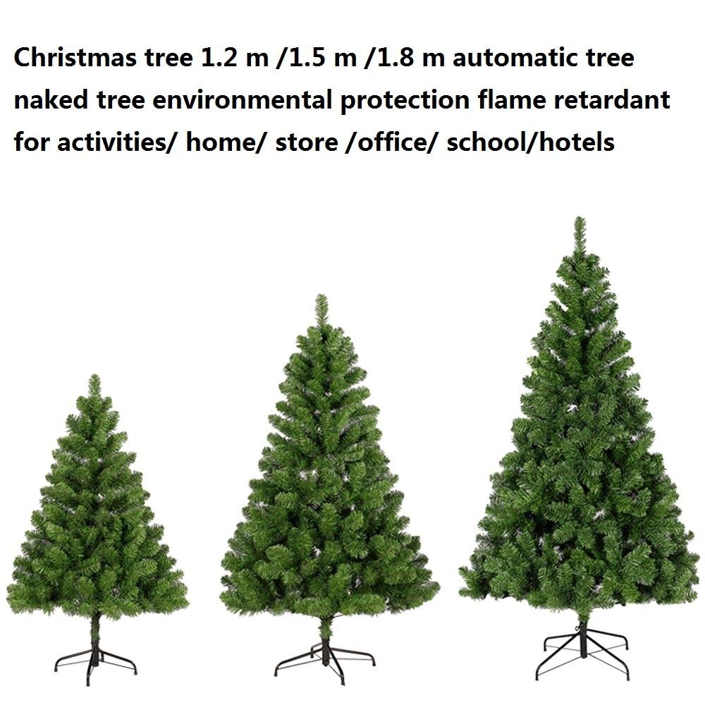 Automatic Christmas Tree: Christmas Tree 1.2 M 1.5 M 1.8 M Automatic Tree Naked Tree