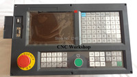 English Panel 3 Axis CNC controller for milling and boring machine stepper servo G code PLC