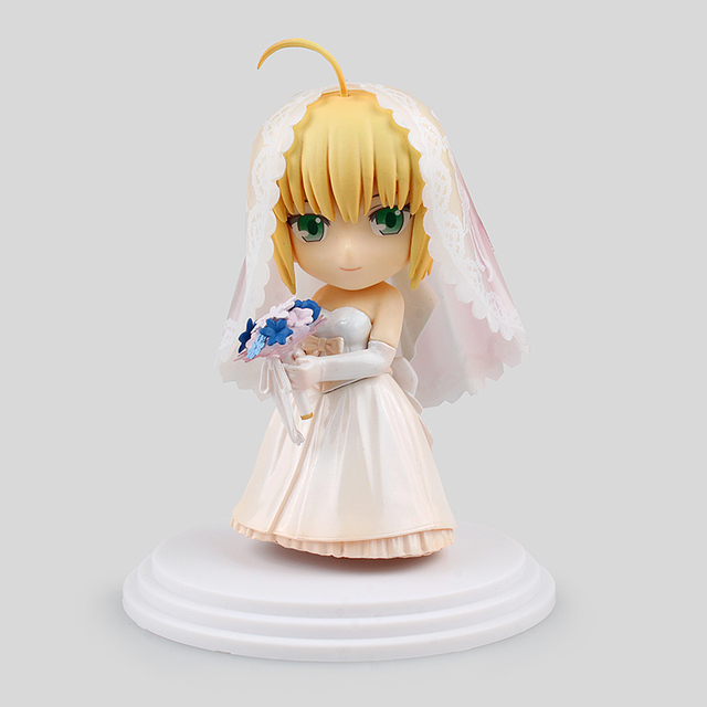 Q Version Japan Anime Fate Stay Night Action figuren Kawaii Saber ...