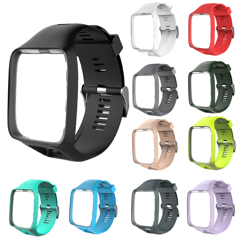 Watchband Watch Strap Silicone Replacement Wrist Band Belt for TomTom 2 3 Series  DJA99