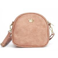 Fashion Women Messenger Bags Crown Rivet Female Crossbody Bag PU Leather Shoulder Bag Ladies Mini Pack