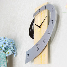 Wall Clocks Fashion Creative Sitting Room The Bedroom Rural Art Mute Wall Clock Home Decoration Accessories Modern