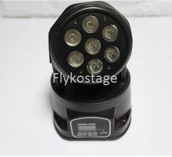 Free shipping factory price Led Moving head 7x10w RGBW 4in1 wash lightFree shipping factory price Led Moving head 7x10w RGBW 4in1 wash light