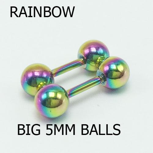 5mm rainbow 2pcs