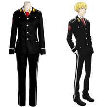 New ACCA:13-ku Kansatsu-ka Jean Otus Owl Knot Cosplay Costume Outfit Uniform Halloween Game Cosplay Costumes For Men Custom