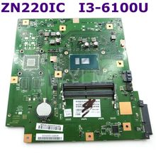 ZN220IC With I3-6100 CPU All-in-one mainboard For ASUS ZN220IC Desktop motherboard 90PT01N0-R03000 100% Tested Free Shipping