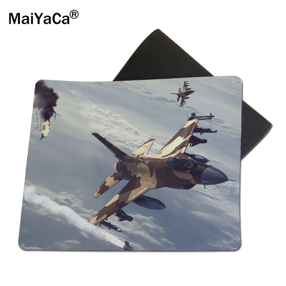 2017 Jet fighters in the air Game Mouse Pad high quality DIY picture with edge locking