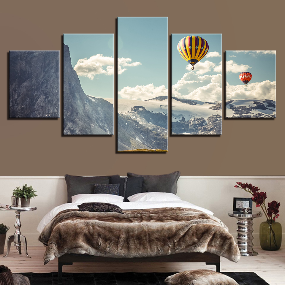 Pictures Of Living Rooms Decorated: Canvas Paintings Living Room Decor HD Prints Pictures 5