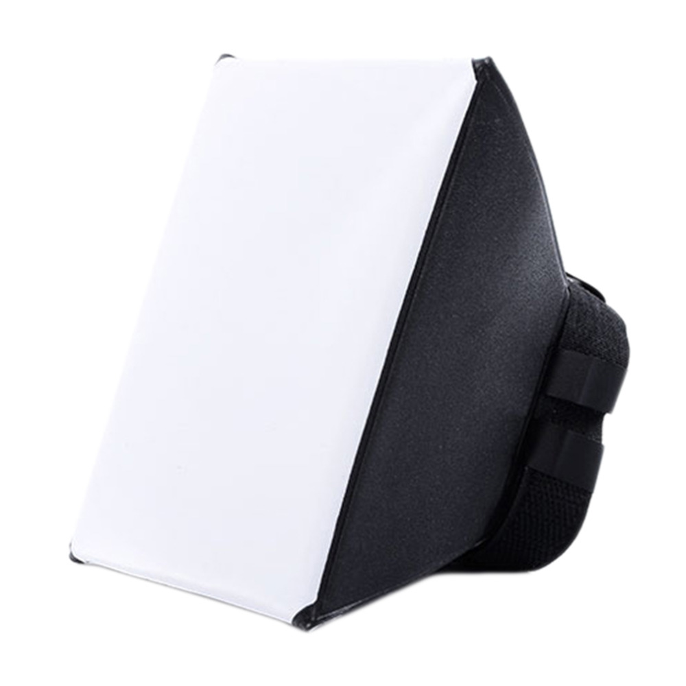 Hot Foldable Lightweight Photo Flashlight Softbox Universal Studio Photographic Flash Light Diffuser Soft Box For Sony For Canon
