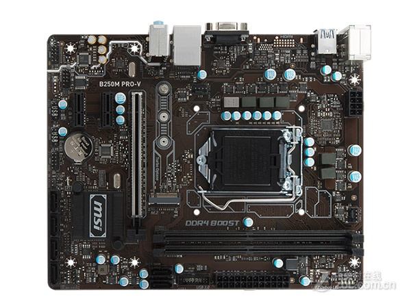 New original motherboard for MSI B250M PRO-V LGA 1151 DDR4 32GB USB2.0 USB3.1 VGA DVI A88 Desktop motherboard цены онлайн