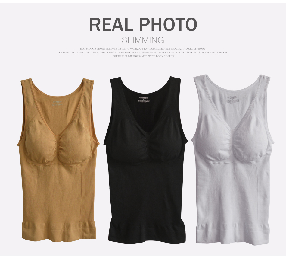 5711501d4f 2017 New Arrival Plus Size XXL Genie Bras Cami Tank Top Fashion Women Body  Shapers Underwear Slimming Vest Corsets Shapewear Hot
