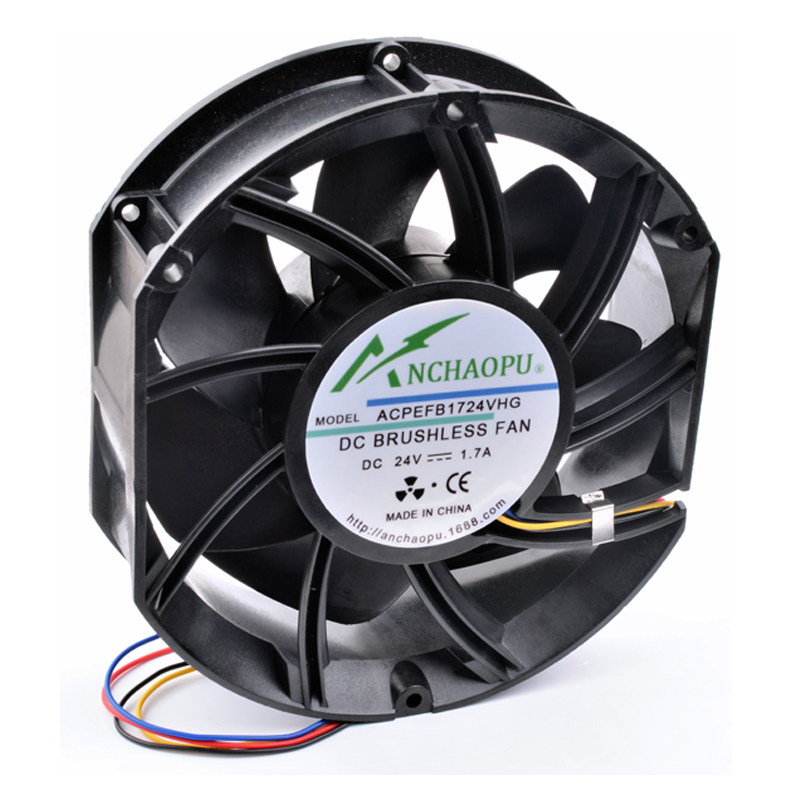 Brand New Original ANCHAOPU EFB1724VHG 17cm 17251 24V 1.70A 171x153x51mm Large Volume High Speed Inverter Cooling Fan