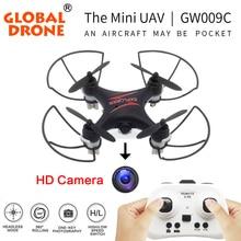 Глобальный GW009C наиболее популярных мире RC Мини Drone Drone Quadcopter Дрон Вертолет Дронов Quadrocopter с Камеры Hd