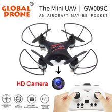 Global Drone GW009C el más popular del mundo Dron RC Helicóptero Quadrocopter Aviones RC Mini Quadcopter Drone con Cámara Hd