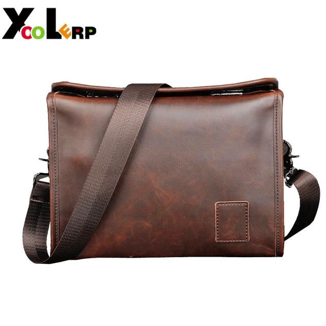 738b7ac73b 2018 Men s Briefcase Business Shoulder Leather Bag Men Messenger Bags  Handbag Leather Faux Leather Bags Wholesale