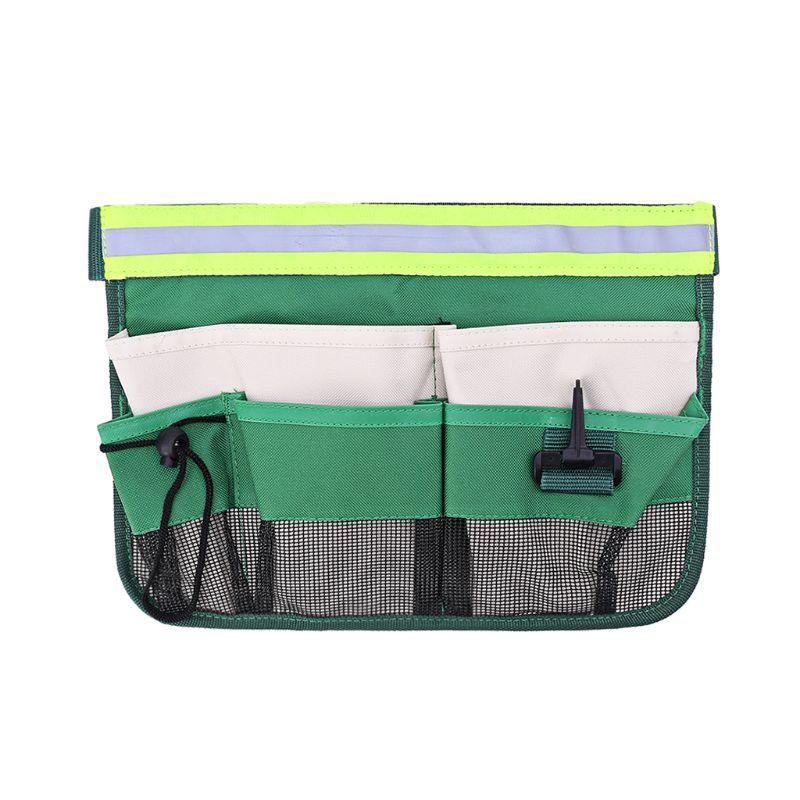 7-Pocket Gardening Tools Belt Bags Garden Waist Bag Hanging Pouch Tool