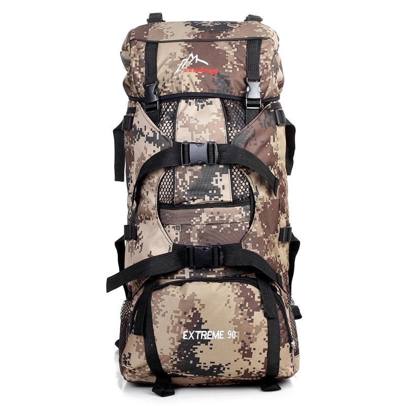 Camping voyage randonnée grande capacité en plein air sac à dos tactique alpinisme sac Camouflage sport grand sac A4481