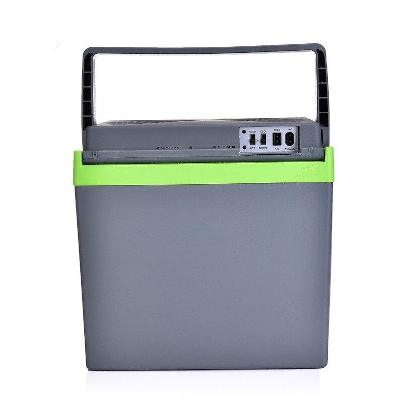 imágenes para 25 L Refrigerador Del Coche, 220 V/Congelador 12 v Mini Nevera Coche a Casa de Doble uso Pequeña Nevera, dormitorio Caja Fría Caja de Temperatura